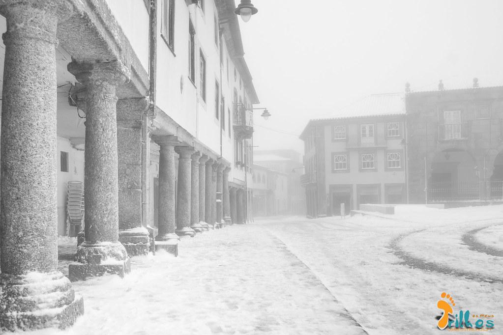 Neve na Cidade da Guarda - janeiro - 2015-7