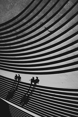 inside the abacus~ Shanghai (~mimo~) Tags: china shadow people lines shanghai streetphotography flip repetition curve abacus mimokhairphotography