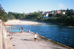 Clovelly Pool and Beach (Robert Ogilvie) Tags: sydney australia contaxt oceanpool