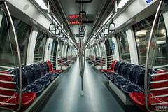 Singapore Metro (davidgevert) Tags: color train subway singapore publictransportation metro d750 vehicle marinabay travelphotography nikon2470mmf28 davidgevert gevertphotography nikond750