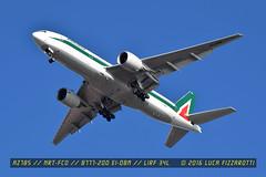 EI-DBM (luca.fizzarotti) Tags: rome airport aviation boeing alitalia fco b777 avgeek lirf