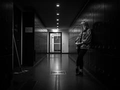 (SchillingD) Tags: life street people urban white streetart black art germany deutschland lumix lights blackwhite streetphotography menschen urbanart 20mm kontrast dortmund bnw personen streetshot einfarbig streetphotografie streetfotography streetfotografie gf7