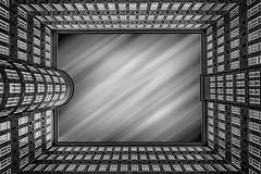 Sprinkenhof (Blitzknips) Tags: bw architecture germany deutschland blackwhite cityscape hamburg warehousedistrict architektur sw speicherstadt a77 schwarzweis kontorhaus sprinkenhof alpha77 sonya77