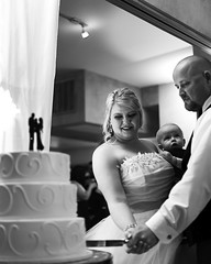 02469129-76-Mike and Lindsey Wedding-7-Black and White (Jim There's things half in shadow and in light) Tags: wedding portrait blackandwhite love michael paige april lindsey hurley canon5dmarkiii canonef50mmf18stmlens