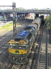G542-XR553-A71 arrival (damos photos) Tags: 2012 gclass x33 aclass a71 vline freightaustralia westfootscray g542 freightvictoria xrclass xr553