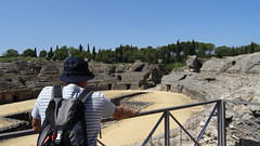 Italica,  Amphitheatre, Roman Ruins, Seville, Spain - May 2016 (Keith.William.Rapley) Tags: spain amphitheatre seville italica romanruins keithwilliamrapley