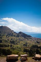 (ElasVF) Tags: blue sky lake titicaca nature beautiful relax lago amazing outdoor bolivia places na roja sudamerica