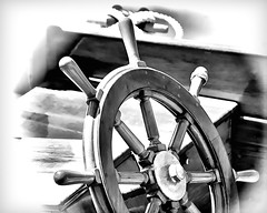 Wooden Wheel Alt (joegeraci364) Tags: ocean new wood sea england cloud white seascape abstract black art heritage nature water weather boat marine ship action yacht outdoor antique connecticut craft vessel atlantic maritime boating sail mast nautical