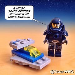 #LEGO_Galaxy_Patrol #LEGO #MicroBuild #Micro #SpaceCruiser #ChrisMcVeigh @PowerPig @lego_group @lego @bricksetofficial @bricknetwork @brickcentral (@OscarWRG) Tags: lego micro spacecruiser chrismcveigh microbuild legogalaxypatrol