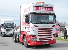 Clwyd R450 (fannyfadams) Tags: uk test cars models tractors a5 lorries anglesey northwales showground a55 stationaryengines angleseyvintagerally tractorpullingauto