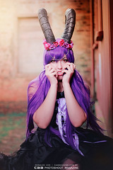 HORNS | model MICHII (CAA Photoshoot Magazine) Tags: portrait woman girl beauty dark eos rebel model tales gothic goth horns fantasy portraiture horn conceptual ichi ronaldo mystic faun xsi horned caa 500px