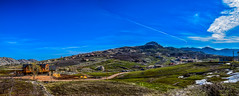 Laklouk After the Snow (Paul Saad (( ON/OFF ))) Tags: winter sky panorama lebanon mountain lake snow mountains water clouds landscape nikon outdoor pano hill panoramic mountainside qartaba laklouk afka kartaba akoura