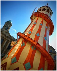 Helter skelter - Oxford (davidolds_uk) Tags: college fun fair oxford helterskelter iphone