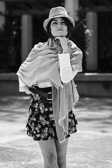 Marta Tchai. (Gerardo Nava Fotografa.) Tags: street portrait espaa music white black art mxico bokeh retrato sony sigma bn alpha 2016 sonyalpha sigmaart sonyflickraward a77ii sonya77ii sonymxico