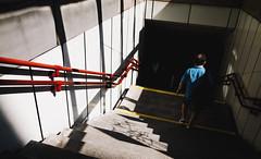u-bahn snapshot #1 (desomnis) Tags: vienna wien street red urban station snapshot streetphotography sunny ubahn rails subwaystation ricoh ricohgr lightandshadow metrostation streetcandid desomnis