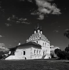 img823 (iliya_white) Tags: blackandwhite film church nature monochrome architecture temple russia ilford kolomna