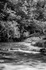 Serenity (59roadking - Jim Johnston) Tags: white black water river waterfall rocks 500px ifttt