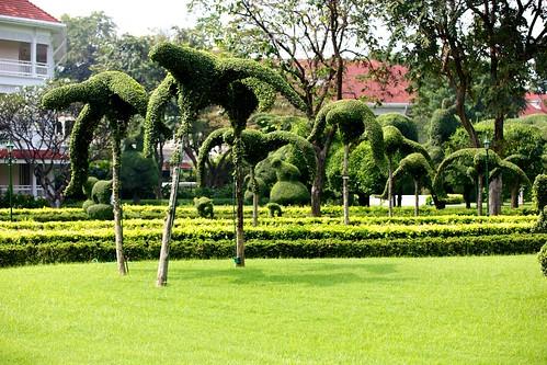 Impressive topiary