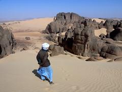 Algeria (denismartin) Tags: africa people sahara rock algeria sand desert hiking afrika geology hoggar tamanrasset tassiliduhoggar denismartin tamanghasset tamenghest