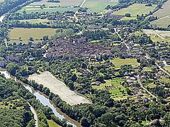 Montricoux (Franois Magne) Tags: moulin village place ciel prairie paysage rue extrieur glise vue antenne ulm champ vues aveyron aerienne ariennes montricoux pendulaire