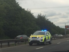 East of England Ambulance Range Rover Discovery Sport Responding (slinkierbus268) Tags: england sport m1 bedfordshire rover ambulance east trust vehicle service discovery range rapid response sirens bluelights responding rrv