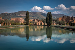 Old empire reflections (luigig75) Tags: italy mountains roma water clouds tivoli italia adriana villa lazio 70d efs1022mmf3545usm