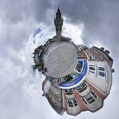 Little Planet (Preston Ashton) Tags: world uk little united small kingdom ne sphere tiny round planet darlington northeast darlo littleplanet prestonashton