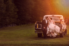 ..and they lived happily ever after III (Chris Bilodeau Photography) Tags: new wedding truck lens this groom nikon iii his wife and almost after loves much they ever 70200 f28 lived the happily