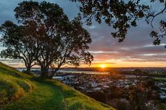 Mt Victoria Sunset, Devonport, Auckland (Jimharding) Tags: auckland devonport mtvictoria