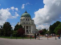 P5310258 (photos-by-sherm) Tags: vienna art church architecture modern austria memorial catholic charles secession karl nouveau borromeo lueger
