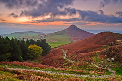 The long and winding road. (paul downing) Tags: autumn sunset nikon filters hitech greatayton roseberrytopping 0609 gnd pd1001 d7000 pauldowning pauldowningphotography
