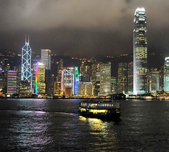 _DSC2467 (the.bryce) Tags: ferry night hongkong starferry victoriaharbour hongkongbay