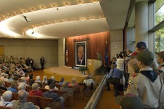"Gerald R. Ford Commemorative Stamp Unveiling Ceremony • <a style=""font-size:0.8em;"" href=""http://www.flickr.com/photos/55149102@N08/15368313214/"" target=""_blank"">View on Flickr</a>"