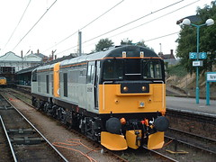 20096 and 20905 at Norwich ACORP Open Day (dbidwell78) Tags: 2005 station electric day br open diesel loco class september norwich british locomotive 20 railways anglia 20905 20096 acorp
