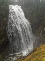 Narada Falls (wirehead) Tags: fog waterfall mountrainier rainier ep3 14150mm