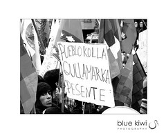 indigenous march (Blue Kiwi Photography) Tags: holiday argentina freedom march travels buenosaires backpacking experience strike indigenous peoplesrights jamesmckinlay bluekiwiphotography