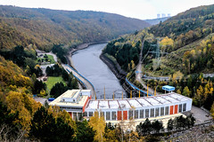Autumn in the energetic valley (The Adventurous Eye) Tags: autumn plant nature water landscape technology power valley symbiosis energetic vodn elektrrna daleice