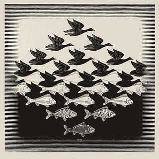 Escher - Cielo e acqua