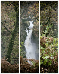 Aira Force Waterfall (Dave_Hilton) Tags: waterfall triptych lakedistrict cumbria nationaltrust airaforce ullswater nikon247028 landscapesshotinportraitformat nikond610