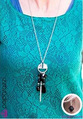 5th Avenue Black Necklace K2 P2120A-3