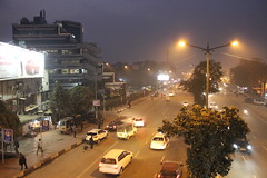 Outer Ring Road (hi_nilabh) Tags: city noida india cityscape place delhi gurgaon newdelhi dlf connaught ncr faridabad ghaziabad munirka