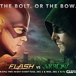 Poster Flash Vs Arrow