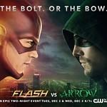 Poster Flash Vs Arrow