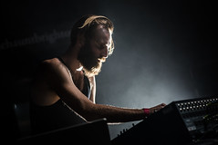 Ben Frost (agataurbaniak) Tags: uk music zeiss concert nikon brighton unitedkingdom live gig performance 85mm noise electronic thehaunt concertphotography haunt 2014 d600 benfrost 85mmf14 85mm14 nikond600 zf2 planart1485 zeissplanart1485 agataurbaniak