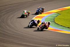 La persecución carrera Moto 3