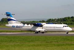 EI-REG (GH@BHD) Tags: aircraft aviation airliner turboprop manchesterairport atr atr72 aerarann manchesterinternationalairport eireg