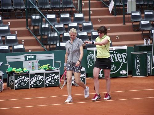 Jana Novotna - Roland Garros 2014 - Jana Novotna & Natasha Zvereva