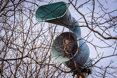 DoubleTrouble (jmishefske) Tags: wisconsin warning franklin nikon december wasp nest air horn tornado siren 2014 d7100
