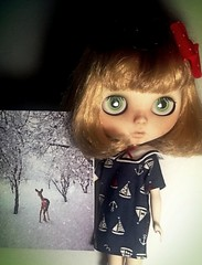 Blythe-a-Day December#26: Sharing Love: Dunaway Wishes...