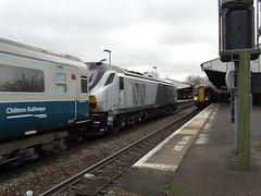 68012 Passes Stourbridge (DB 77) Tags: december 18th junction class chiltern stourbridge 68 2014 68012